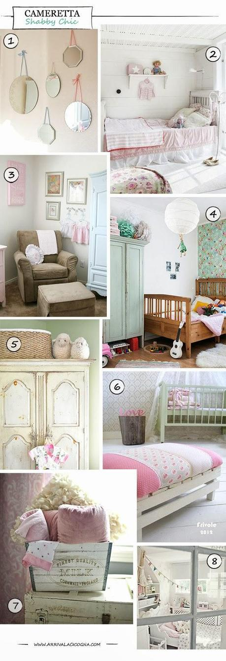 Camerette stile shabby chic paperblog - Camerette stile country chic ...