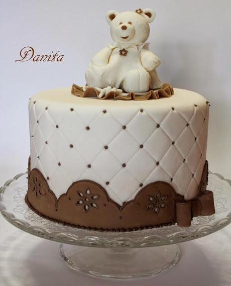 Cake Design Ricette Pasta Di Zucchero : Corso di cake design: Torta orsetto - Paperblog