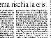 Francesco Alberoni... crisi politica mette rischio regime parlamentare: