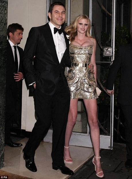Il Matrimonio di Lara Stone e David Williams…CHE ABITO!!!