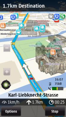 Nokia Ovi Maps: update v3.04(165)