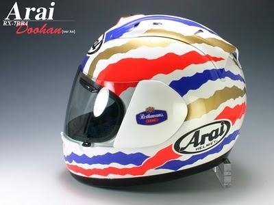 Arai RX-7 RR4 Mick Doohan 1989-1994