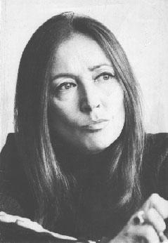 Svegliatevi trentenni! Oriana Fallaci