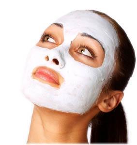 Maschera da eruzione di acne per la persona ad adolescenti