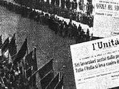Palmiro Togliatti pronuncia l'orazione funebre operai uccisi Modena gennaio 1950