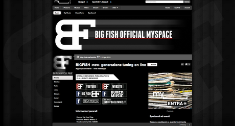 BIG FISH New MySpace Graphic by Phra