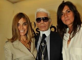 Karl Lagerfeld interviene sulla nomina di Emmanuelle Alt / Karl Lagerfeld weights in on Alt's appointment