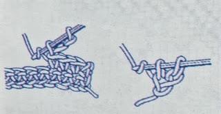 Schemi per il filet: Fiocco nascita