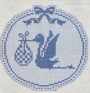 Schemi Per Il Filet Fiocco Nascita Paperblog