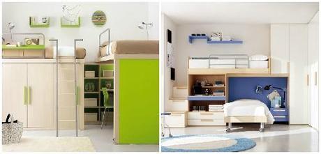 Spaziamo come organizzare gli ambienti di casa per vivere for Camerette bimbi usate