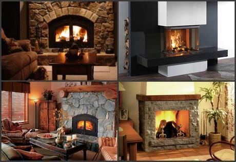 La magia dei caminetti tradizionali a legna paperblog - Camini da interno ...