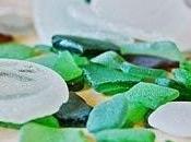 Anelli vetri trovati sulla spiaggia!