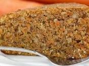 Avete pensato nascondere carote nella torta?
