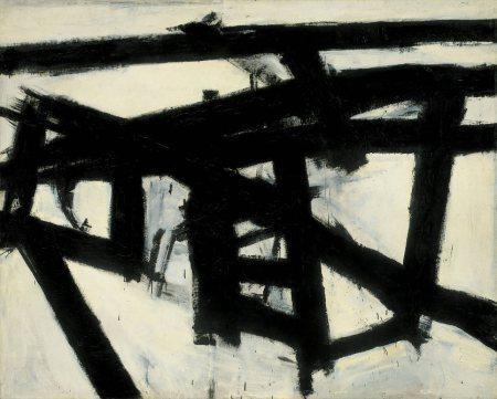 Franz Kline – 1956 – Mahoning -  Whitney Museum of American Art, New York