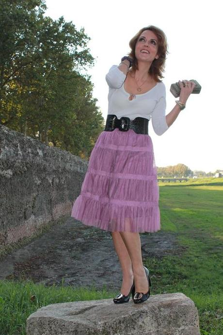 IndianSavage The diary of a fashion apprentice Tulle skirt 2