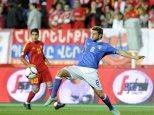 Calcio, Qualificazioni Mondiali 2014 Italia Armenia (diretta