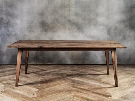 Tavoli in legno grezzo tutte le offerte cascare a fagiolo - Tavolo cucina legno grezzo ...