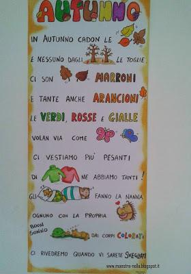 Autunno poesia illustrata paperblog for Maestra valentina estate
