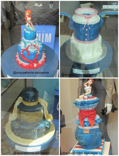 The Cake Art of Denim: moda e cake design uniti per festeggiare i 10 anni di Castel Romano Outlet