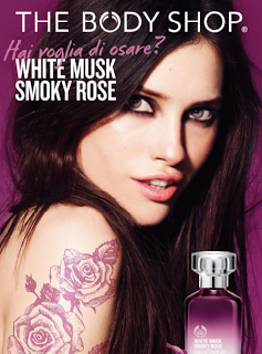 Preview - The Body Shop: linea White musk smoky rose