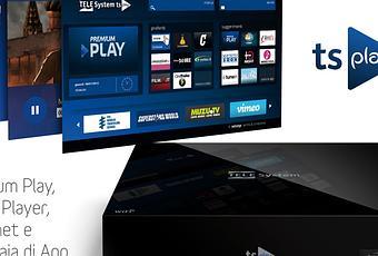 Telesystem tsplay il nuovo box multimediale ip media for Premium play su smart tv calcio live