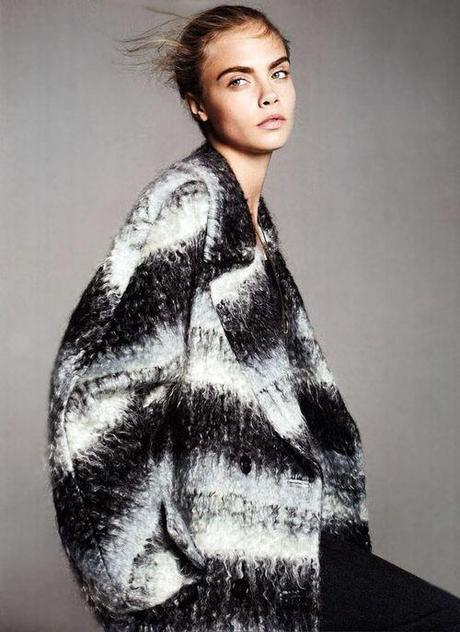 Wrap yourself in this wool coat by Marny