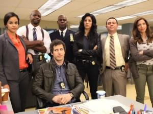 I protagonisti della comedy Brooklyn Nine-Nine