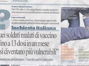 Troppi vaccini, così s'ammalano soldati