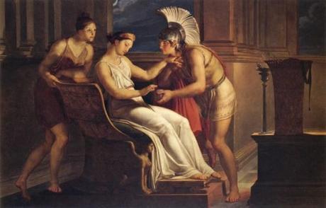Arianna dà il filo a Teseo - Pelagio Palagi