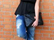 Outfit: asimmetrico boyfriend jeans
