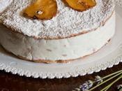 Torta Amalfitana: semifreddo Ricotta Pere
