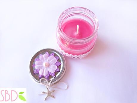 Candele profumate fatte in casa no cera scented - Candele fatte in casa ...