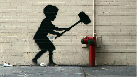 62532c509037 Sessanta dollari per un quadro di Banksy Genny Sangiovanni