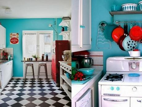 Cucine Americane Anni 50. Simple Credenza Vetrina Dispensa Cucina ...