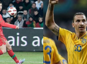 Mondiali, playoff: Cristiano Ronaldo contro Ibrahimovic