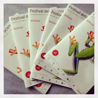 Festival della Scienza con i bambini ed anche gli adulti....