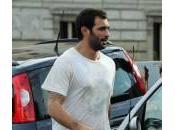 Francesco Arca: jogging sacco pugilato Commissario (foto)