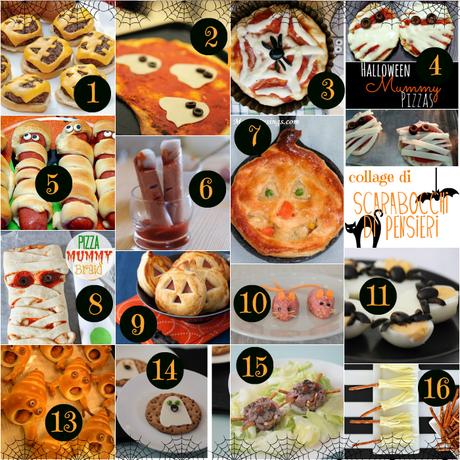 Men di halloween idee salate paperblog - Idee menu halloween ...