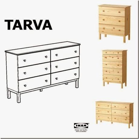 Diy ikea tarva trasformazione paperblog - Vernice per mobili ikea ...
