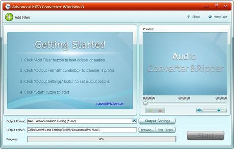 mp3converter Advanced MP3 Converter 5.0 Gratis con Licenza: Convertire Mp3 in tanti formati diversi [Windows App]