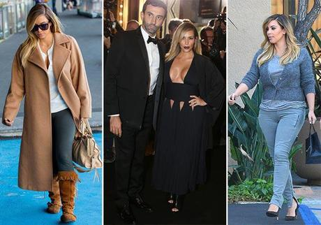 Kim Kardashian outfits disastri fashion