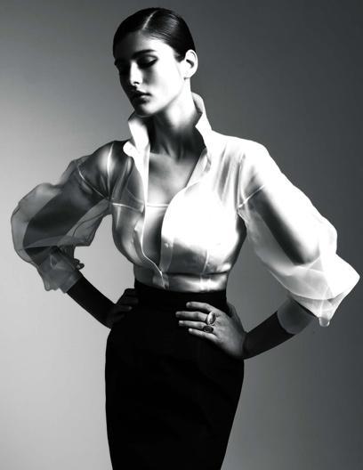 A Milano in mostra la camicia bianca di Ferrè - By  Mara Franzese http://it.paperblog.com/