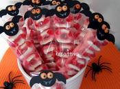 """Halloween """"Dolcetto scherzetto"""" speciale pipistrelli carta"""