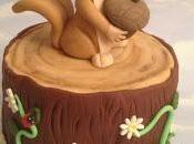 Corso cake design:un dolce scoiattolo!!