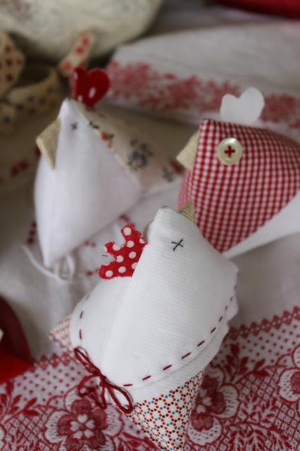 Tutorial  DIY gallinelle - poulettes ...