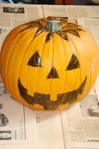 Come decorare la zucca di halloween paperblog for Zucca halloween luminosa