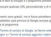 Google+ offre l'URL personalizzato gratis,