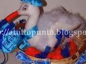Cicogna nascita confezionata