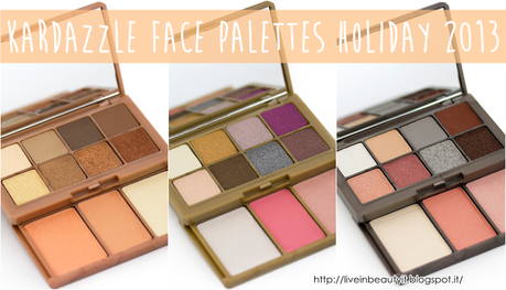 Kardashian Beauty, Kardazzle Face Palettes Holiday 2013 - Preview