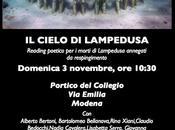 CIELO LAMPEDUSA Bologna novembre Modena